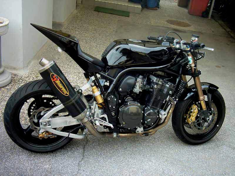 Modifikasi Motor Honda Tiger Terbaru Ala Ducati Dan Ceper