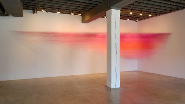 Anne Lindberg installation instalación