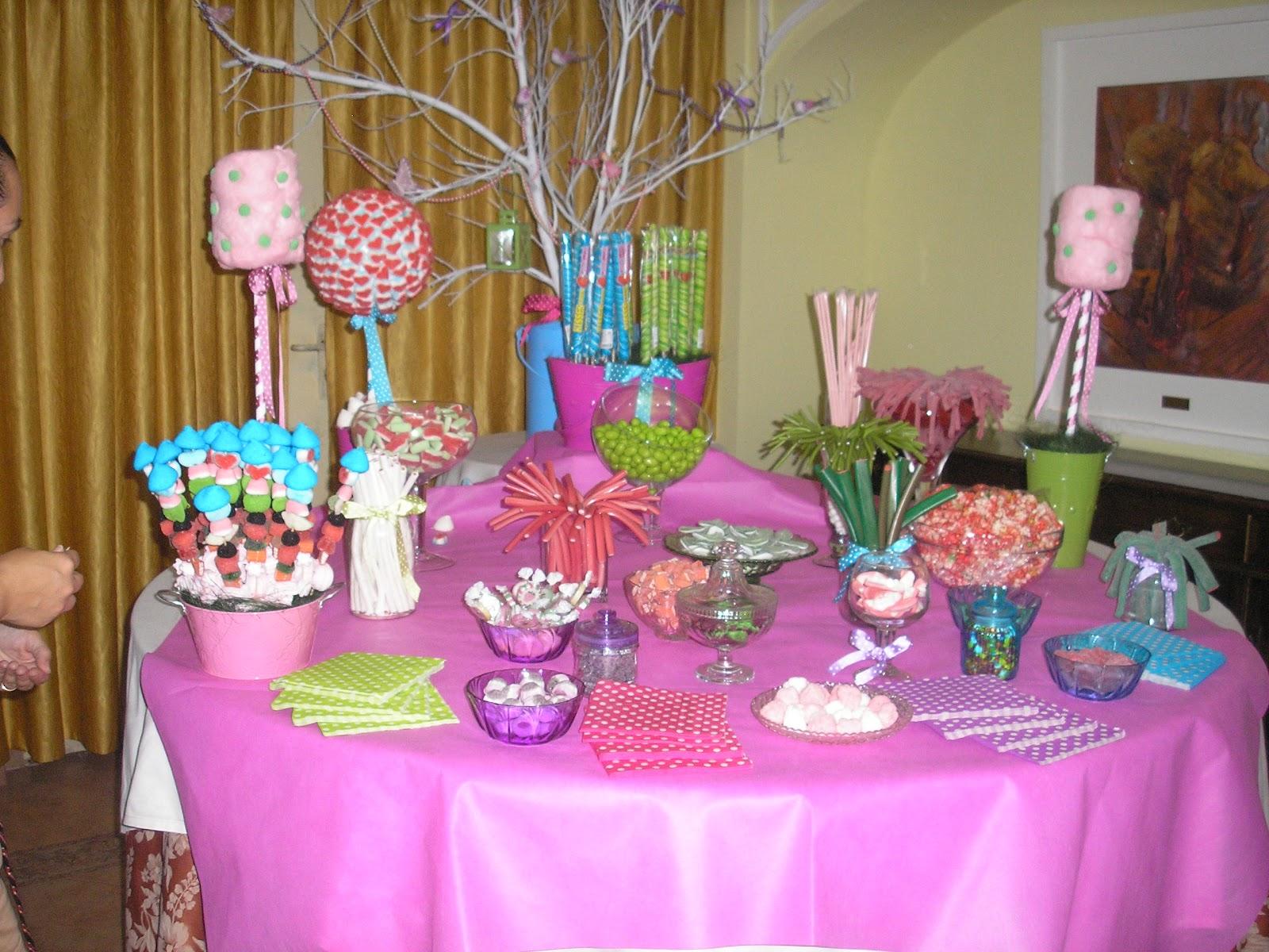 La casa de carmen mesa decorada comunion - Mesas decoradas para comunion ...
