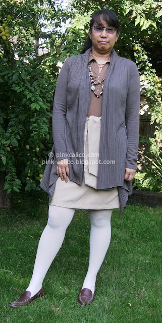 Pink Calico: Taupe Outfit
