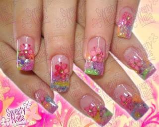 Lo nuevo en uñas acrilicas 2014 - Imagui