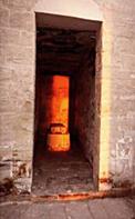 تعامد الشمس على معبد قصر غويطة 13-3-2015م