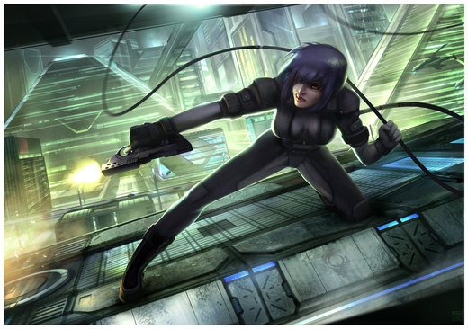 Ghost in the Shell - Engage por Hideyoshi
