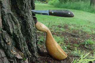 spoon carving MaChris bushcraft knife