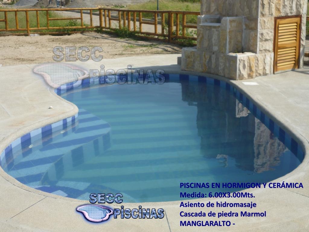 Secc piscinas piscinas construidas en hormig n y cer mica for Construccion de piscinas en ecuador