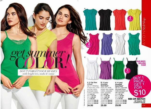 Shop New Avon Catalog 14 online