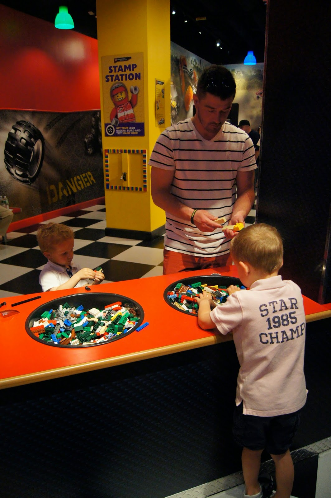 building lego racers