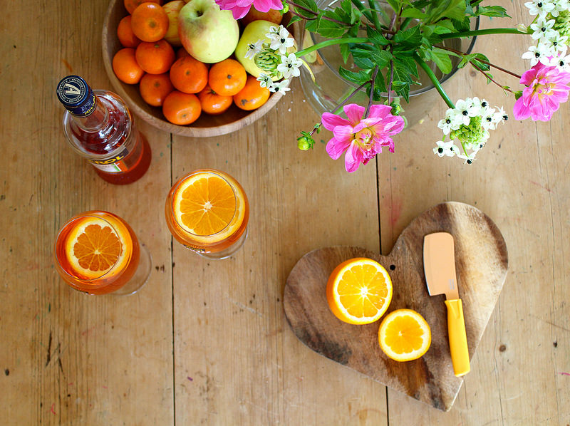 Aperol Spritz recipe | Oyster & Pearl blog