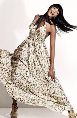 Fotos de Modelos de Vestidos de Algodão Longos