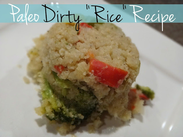 "Paleo Dirty ""Rice"" Recipe — A Modern Mrs."