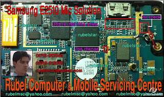 Samsung E2510 Mic problem solution diagram