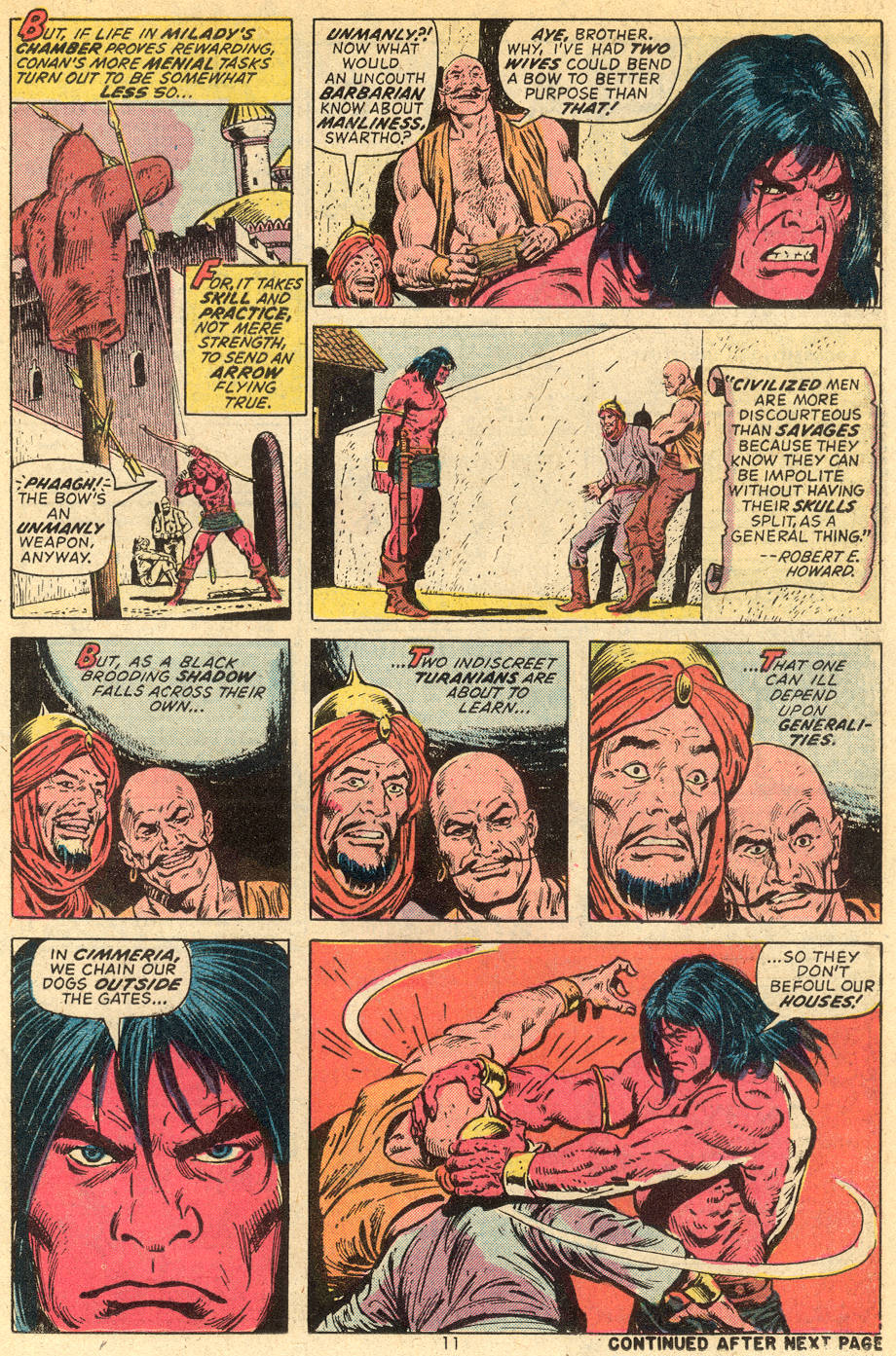 Conan the Barbarian (1970) Issue #36 #48 - English 8