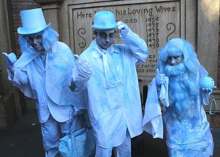 the hitch hiking ghosts from the haunted mansion