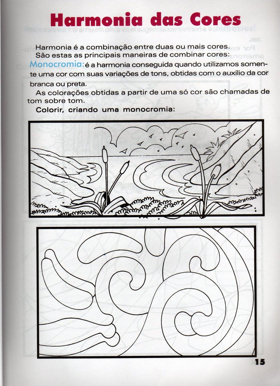 Monocromia  Isocromia E Policromia  Disco E Estrela Das Cores