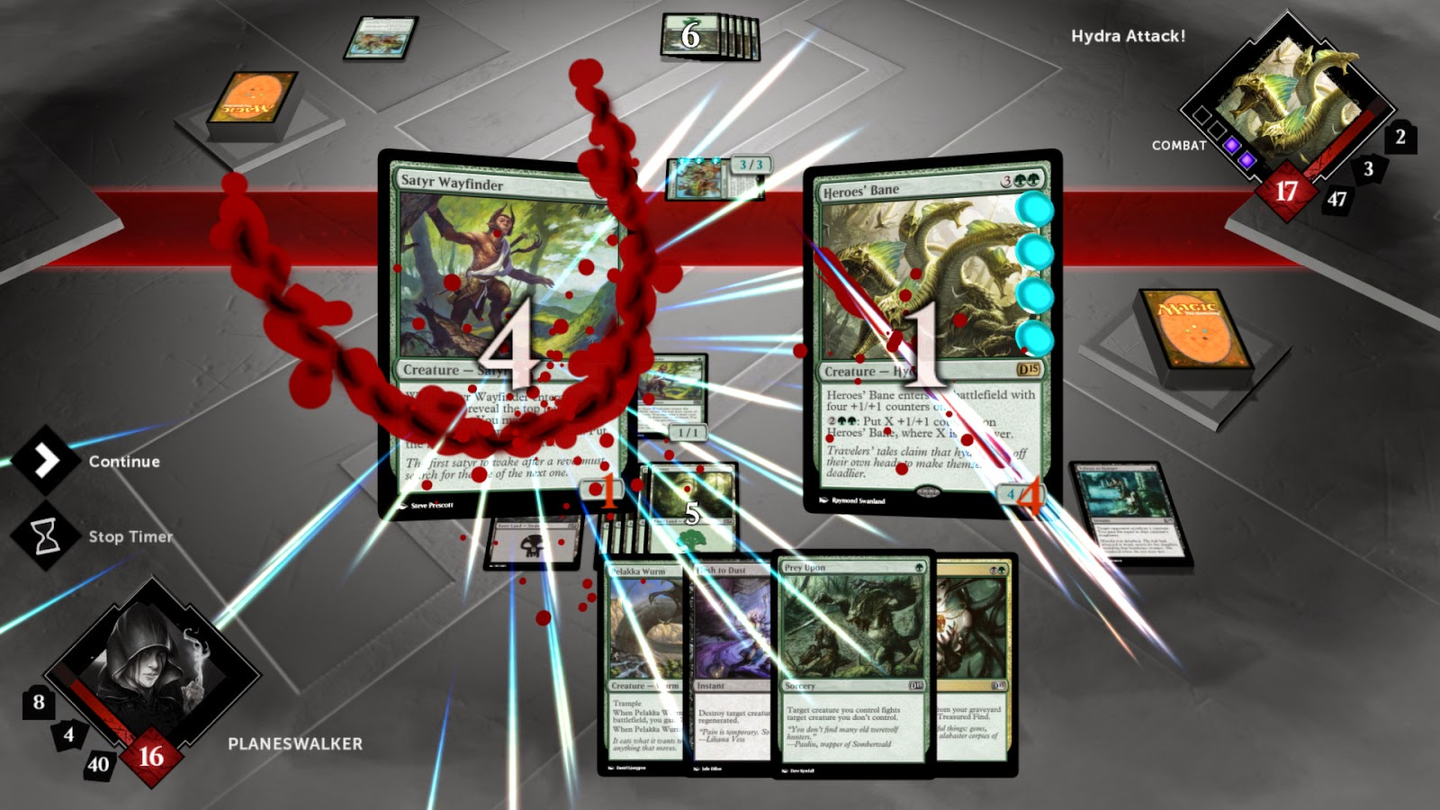 Magic 2015 –Duels of the Planeswalkers screenshots