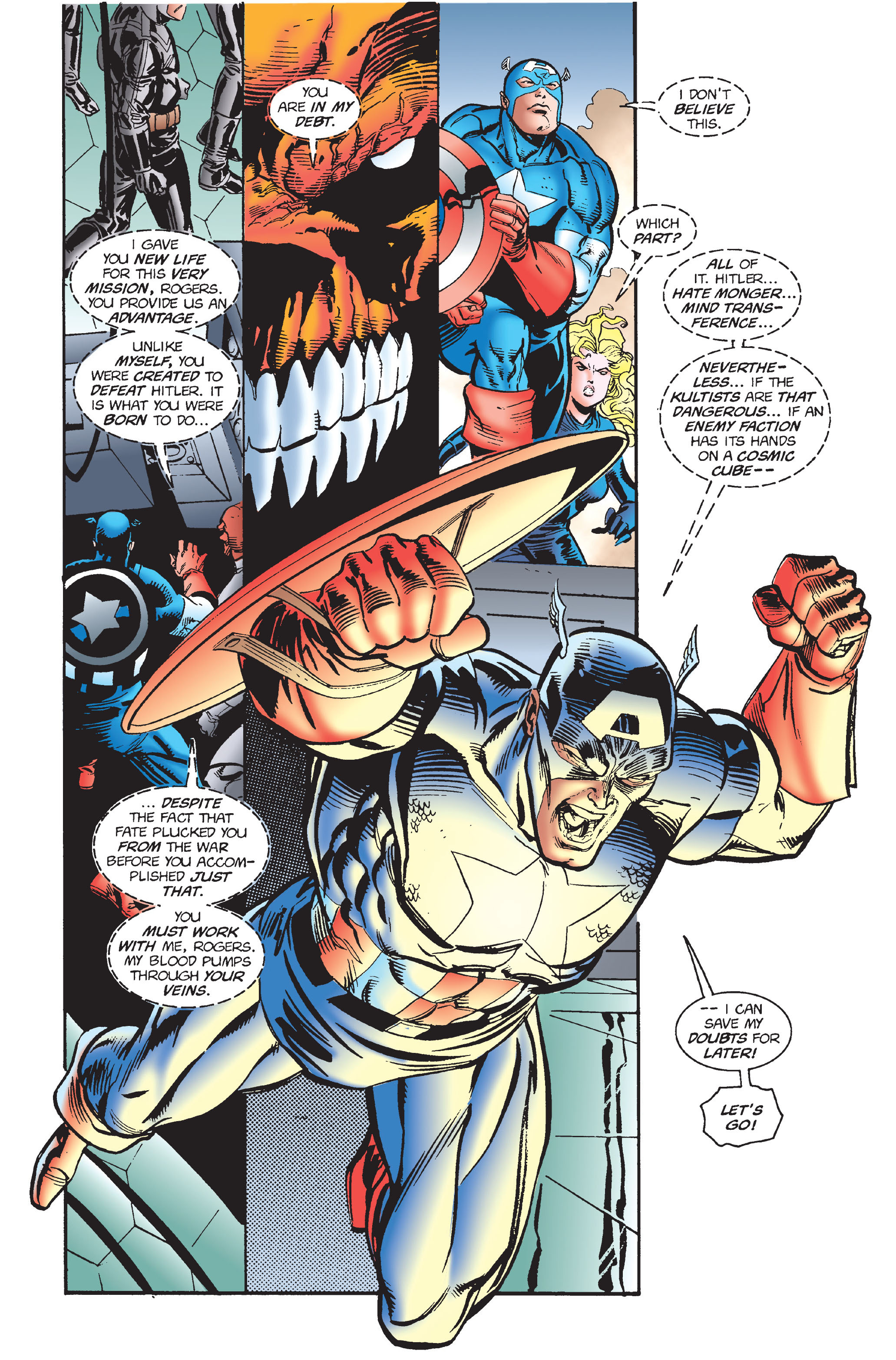 Captain America (1968) Issue #446 #400 - English 7