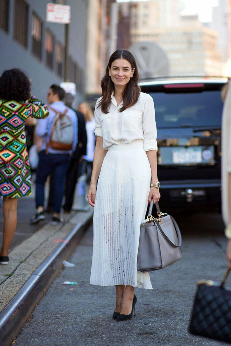 Style Inspiration, White, Fashion