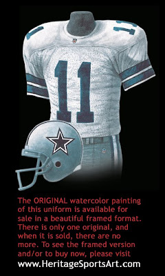Dallas Cowboys 1992 uniform