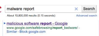 Type google malware on a search box, click first result. I'm sure you know how to do this.
