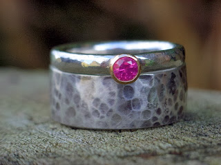 fairtrade ruby engagement ring