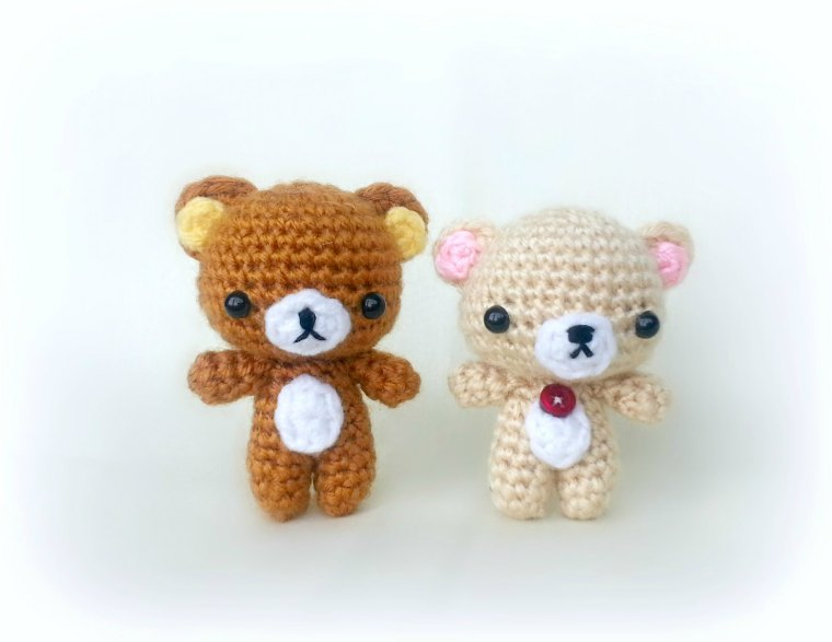 Amigurumi Free Patterns Bear : Ami amore: amigurumi chick pattern & rilakkuma pattern mods