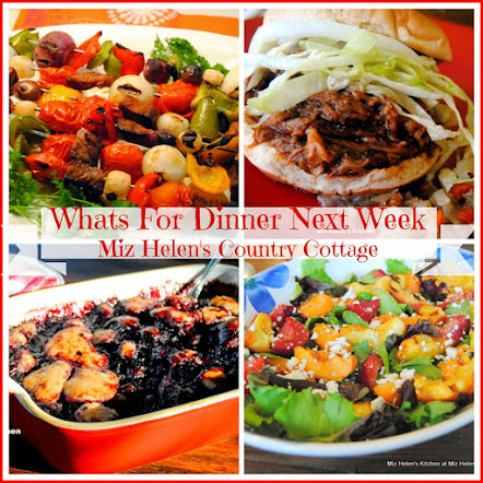 Whats For Dinner Next Week * Week Of 8-13-17