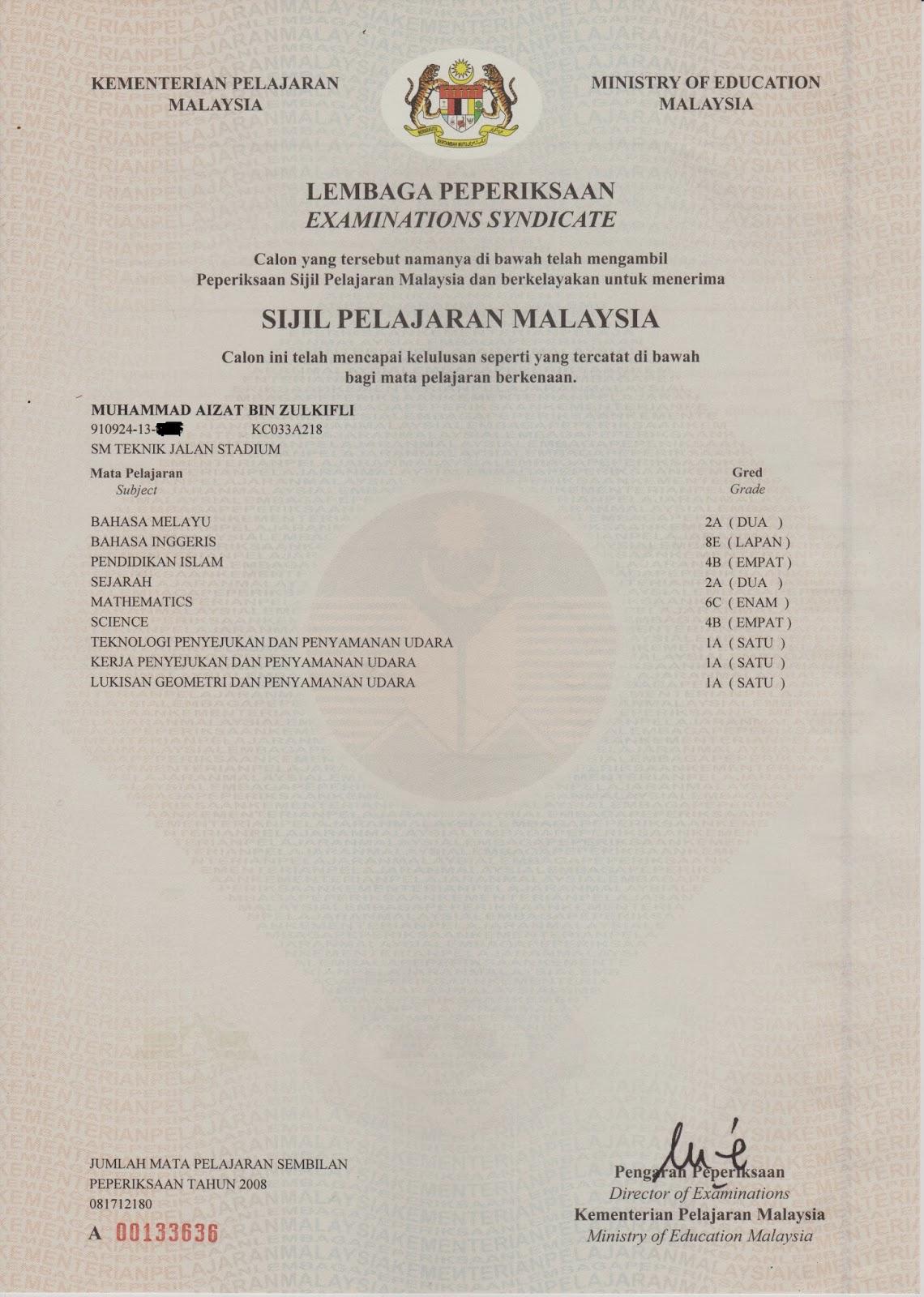 sijil pelajaran malaysia Laporan analisa keputusan peperiksaan sijil pelajaran malaysia tahun 2017 tahniah kepada calon peperiksaan yang berjaya mendapat keputusan peperiksaan spm.
