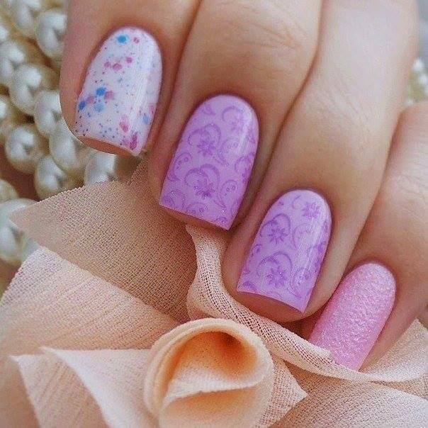 Pink  Gradient  Nails Design | Nails