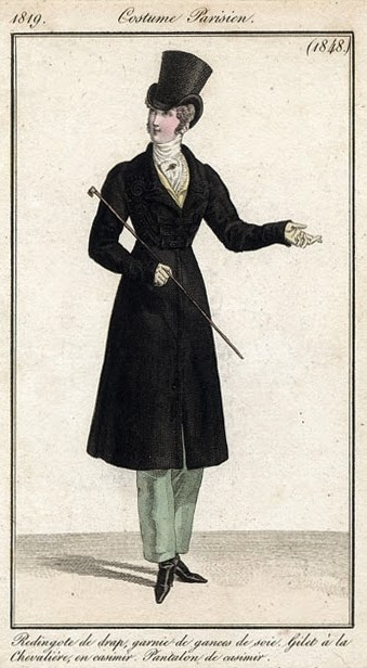 Costume Parisien 1819