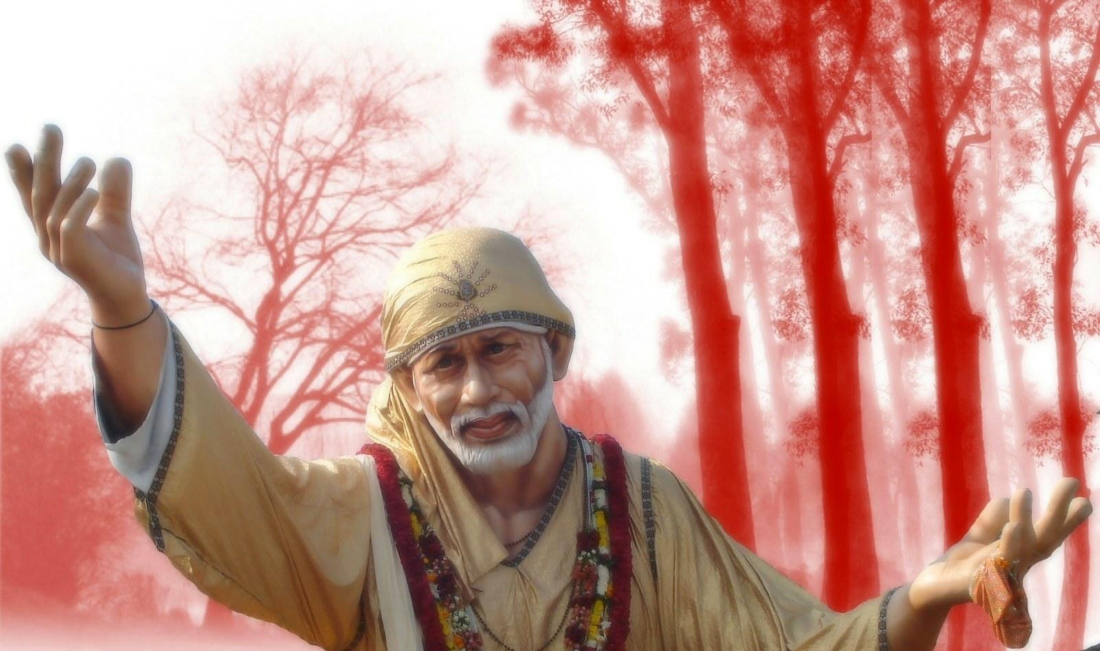 Sai Baba 3d Wallpaper Free Download
