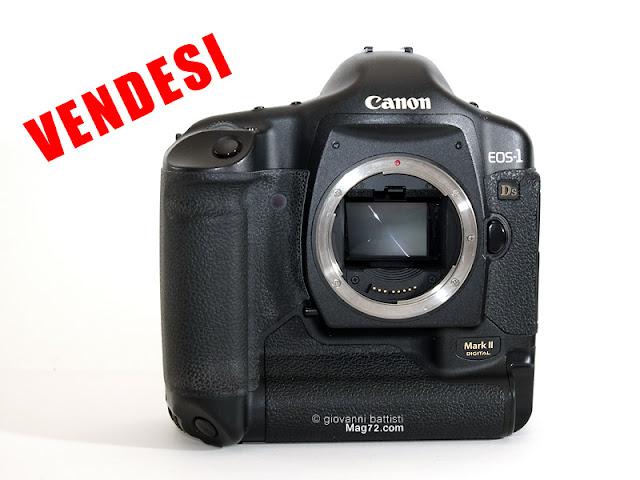 Fotografia di Canon EOS 1 DS MkII in vendita