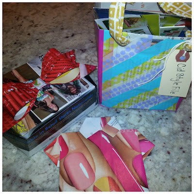 magazine, paper folding, paper box, paper tshrit, DIY, crafts,