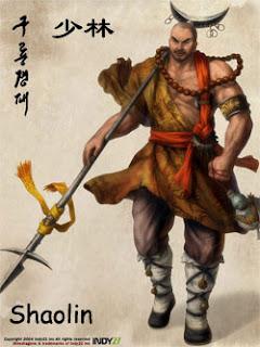 Shao Lin em Nine Dragons