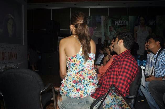arjun kapoor deepika padukone hot photo finding fanny