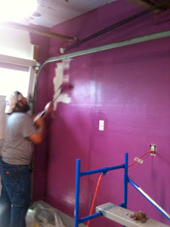 """Painting the rabbit room Behr paint color """"Peru"""""""
