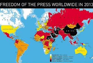 Malaysia catat prestasi kebebasan akhbar paling buruk