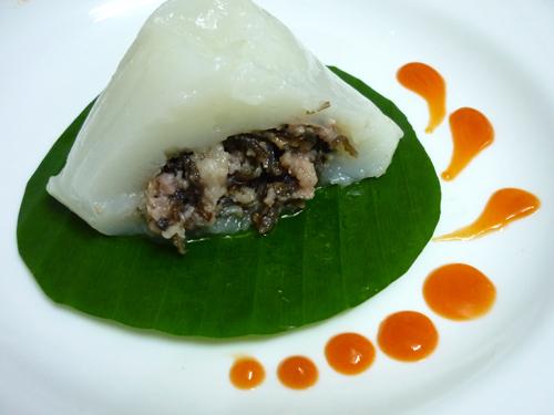 Bánh giò (Pyramidal Rice Dumpling)