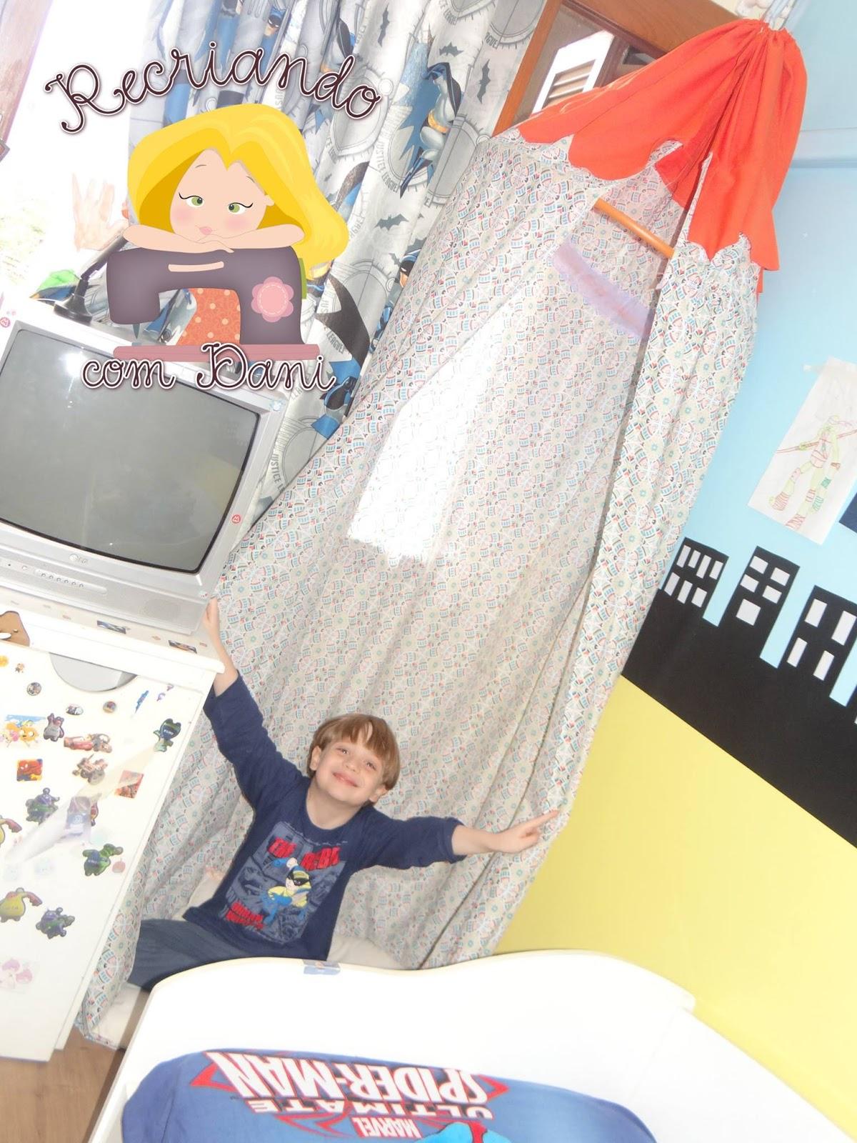 cabana infantil decoração Recriando com Dani Garcia