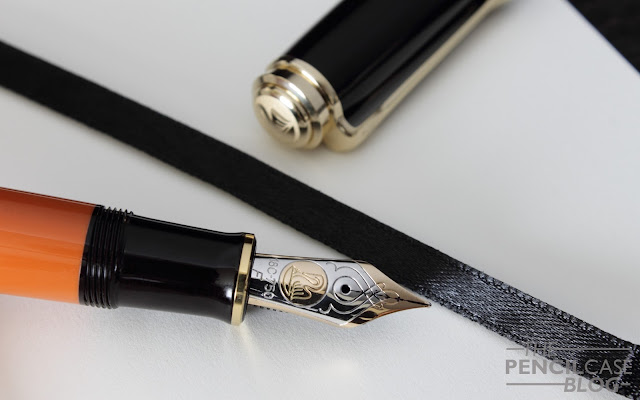 Pelikan Souverän M800 Burnt Orange special edition fountain pen