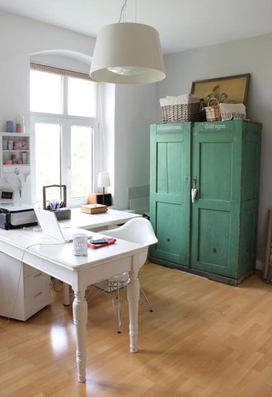 Inspiraci n espacios de trabajo en casa tr s studio for Espacio casa online