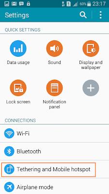 Cara Konek Wifi HP Android Ke Laptop