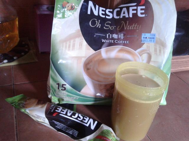 Nescafe White Coffee 2 Types Of Hazelnut Flavours
