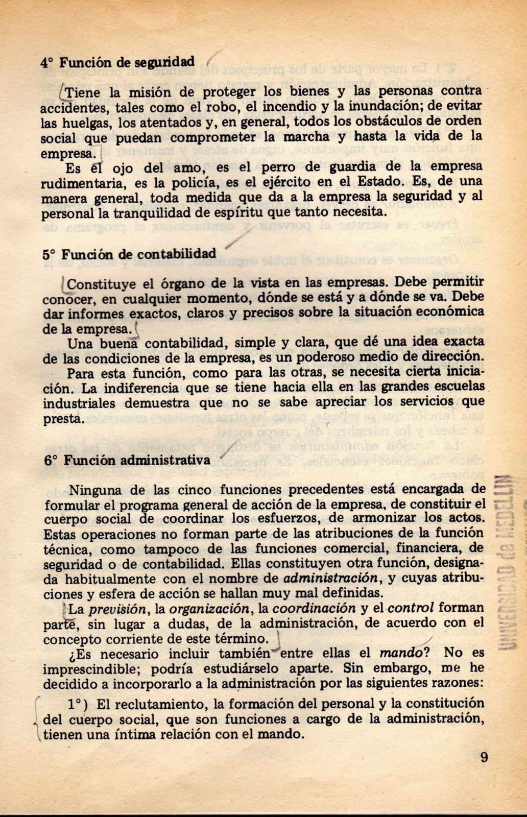 2 fayol industrial and general mang 1 biography 2 work  221 functions of management 222 principles of  management  in words of fayol, the worker always on the same post, the  manager always concerned  in: fayol (1930) industrial and general  administration pp.