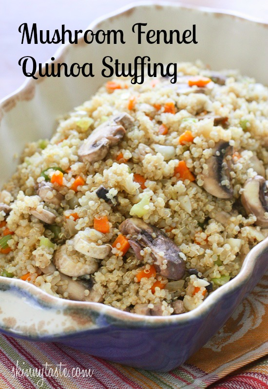 stuffing quinoa fennel and pomegranate salad mushroom and fennel ...