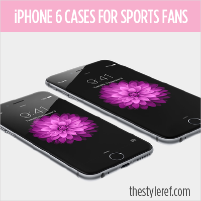 iPhone 6 cases for sports fans