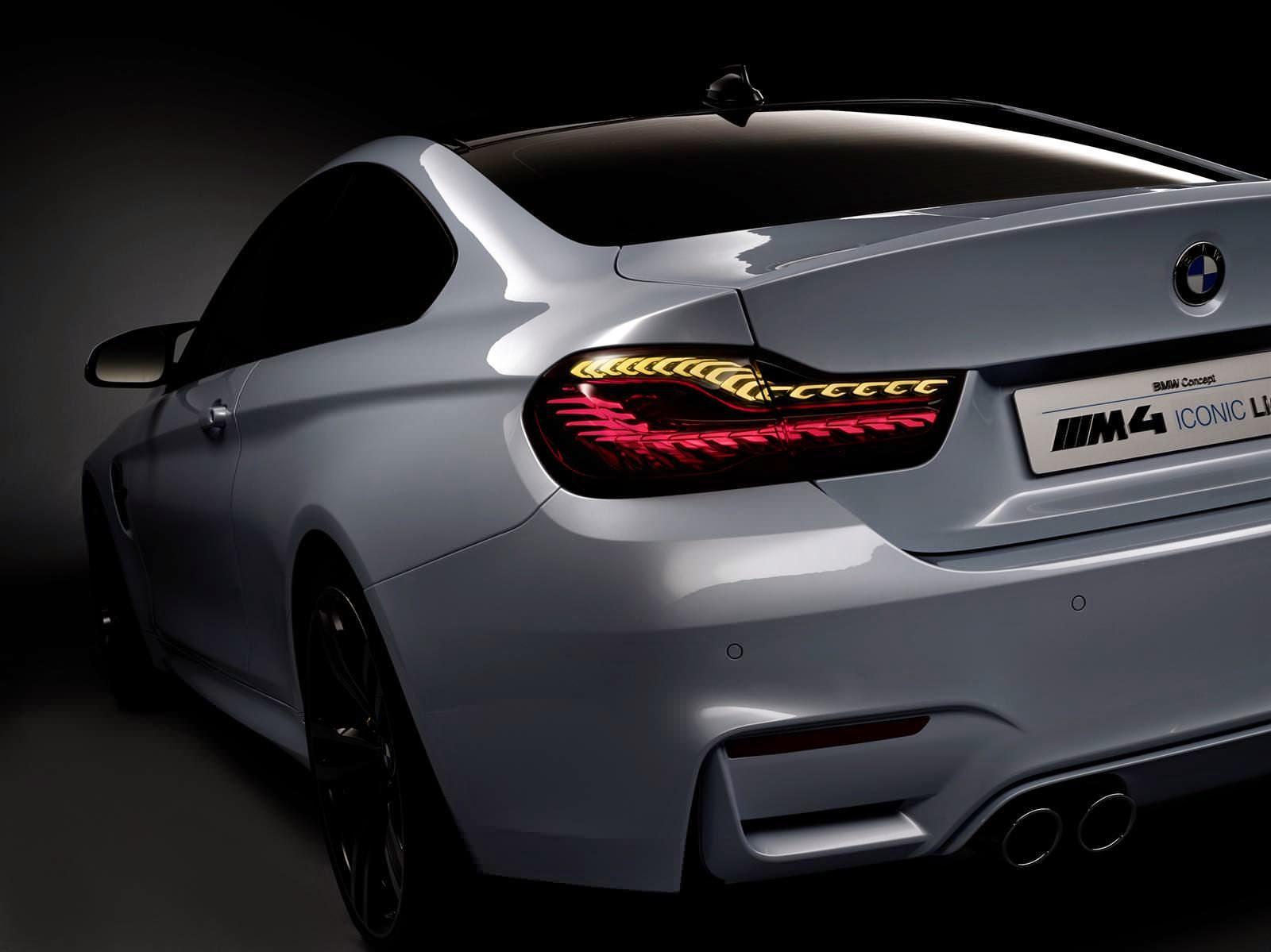 BMW M4 Concept Iconic Lights صور سيارات: سيارة بي ام دبليو ام 4 كونسبت ايكونيك لايتس 2015 بمعرض 'CES'