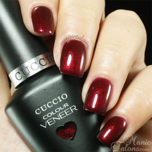 Cuccio Colour Veneer Hearts of Fire Swatch
