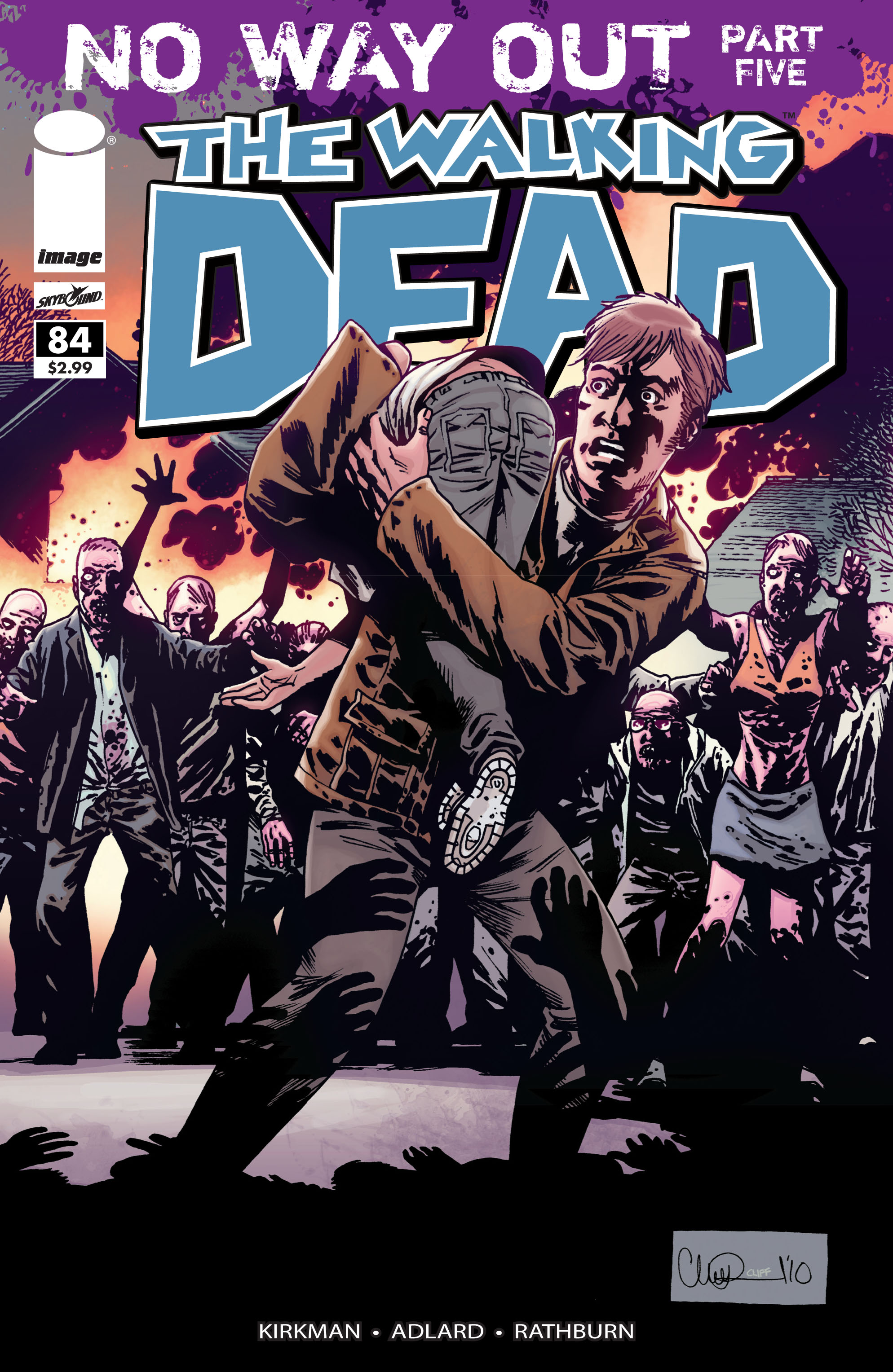 The Walking Dead Issue #84 Page 1