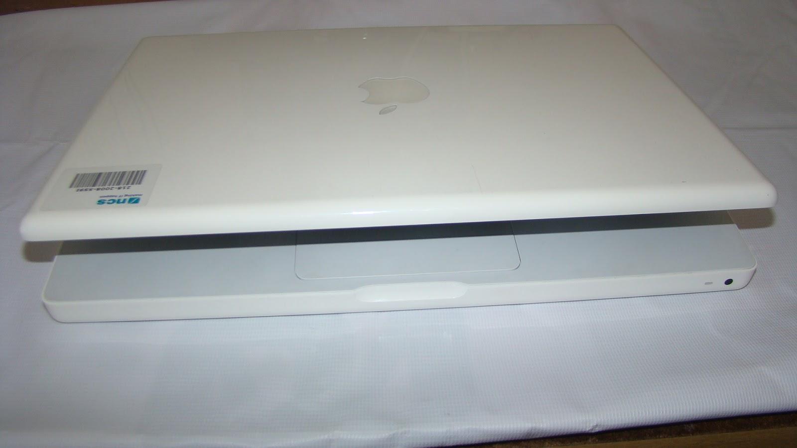 Semarang: MacBook white 2.1 - A1181 - Core 2Duo - Mulus-Semarang