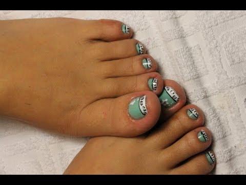 Decoração diferente para os pés